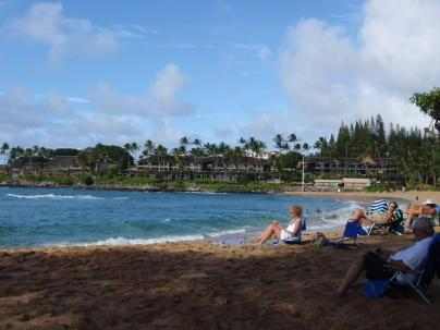 Napili Bay Beach, right in front of The Napili Bay #111