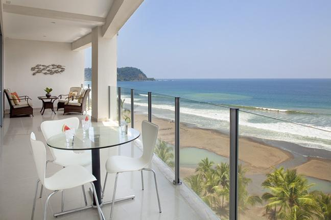 Large Terrace with Jaco Beach view