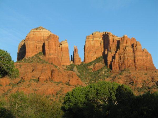 Cathedral Rock, une courte randonnée loin