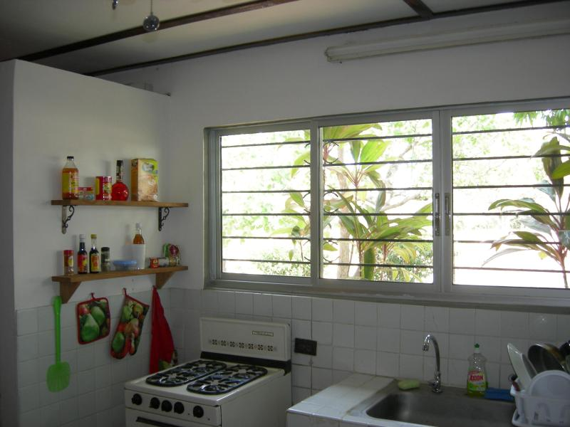 Another view of the Kitchen - another great view outside...