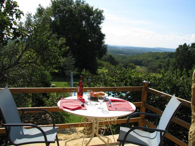 terrace from lounge