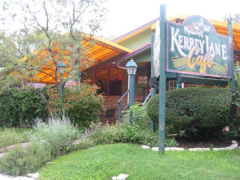 A Fun, Short  Walk Through the Neighborhood To Kerbey Lane Cafe and Other Great Restaurants, Shops