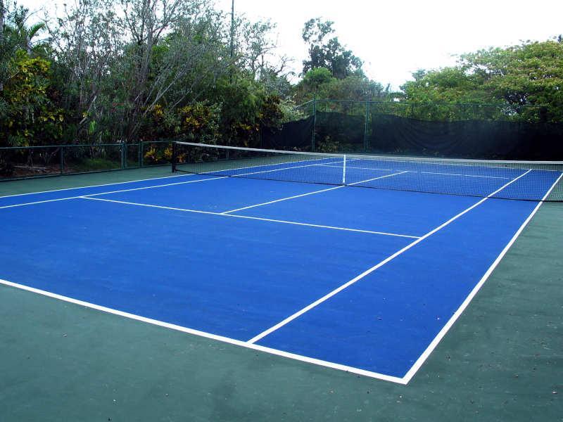 Tennis Court Next Door