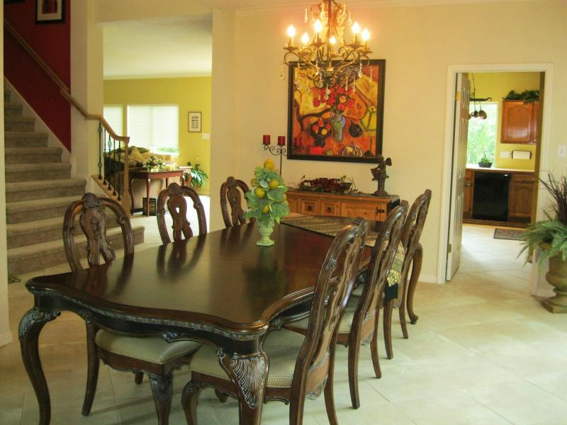 Formal Dining Room - One of Three Dining Areas