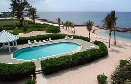 Full size beachfront pool