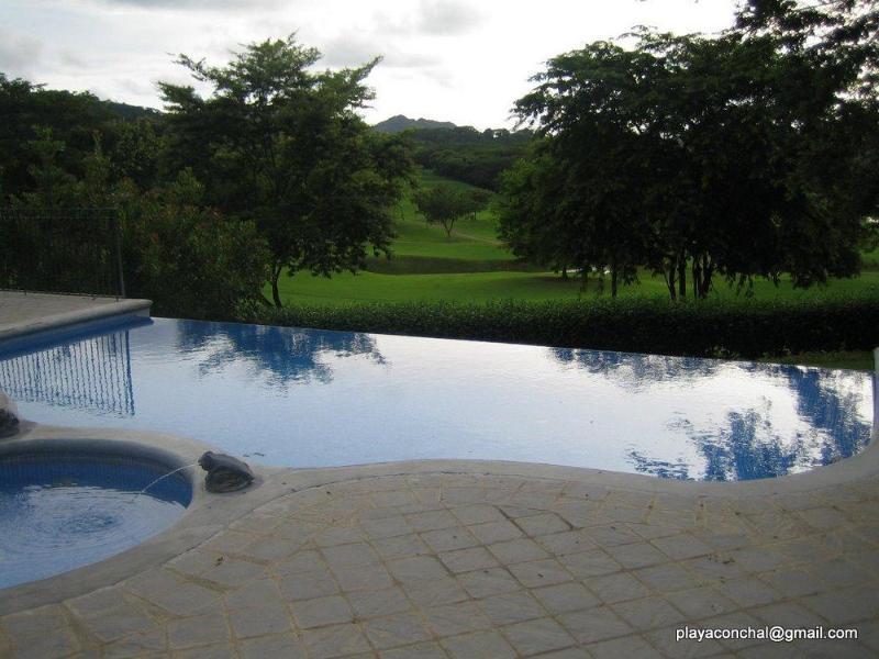 Infiniti Edge pool & BBQ area near the condo