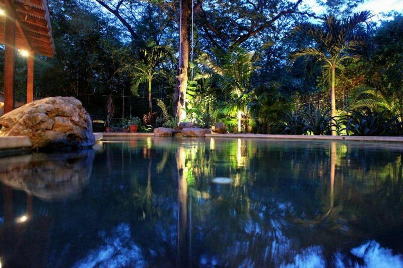 Your Private Pool at Night