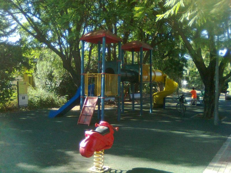 Local kids play park. 5 minutes walk from us