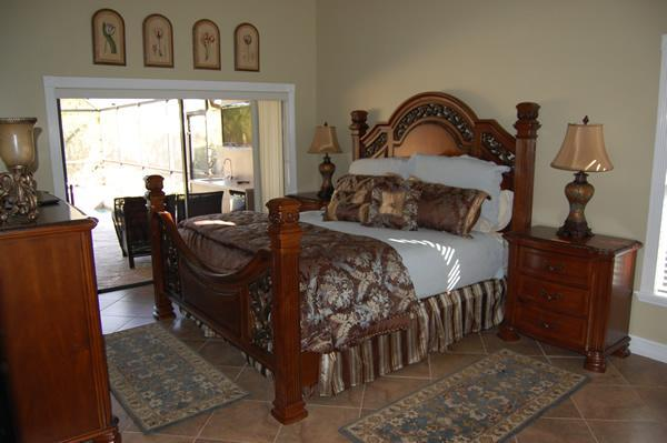 Master Bedroom with Beautiful Four-Poster Bed