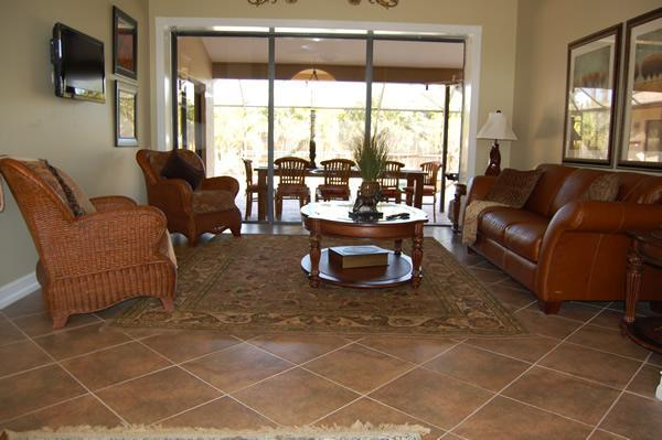 Indoor and Outdoor Gathering Rooms