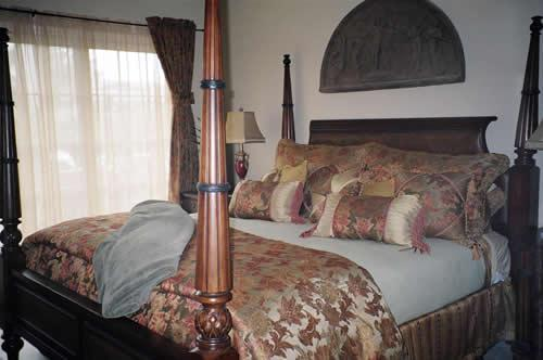 Luxurious King-Size Bed