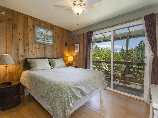 Second Bedroom down the hall~Queen bed, Deck, shared hall Bath