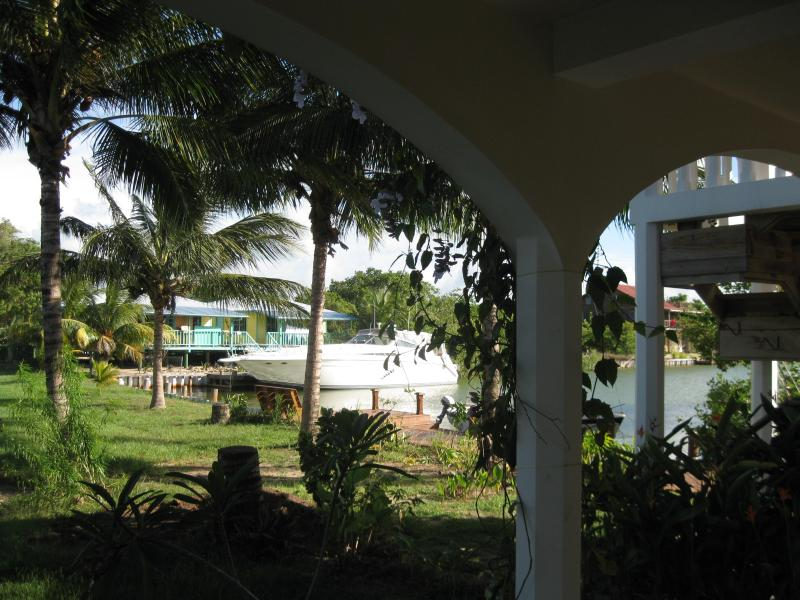 Private grounds and dock