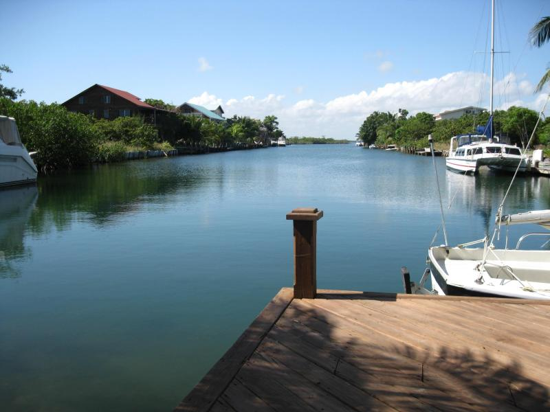 View from Dock