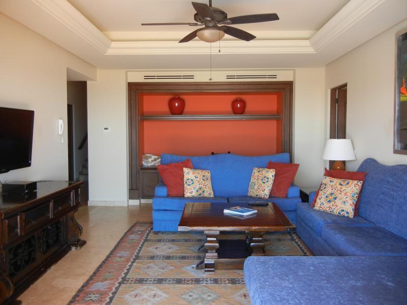Chambre familiale à l'étage inférieur avec divan-lit