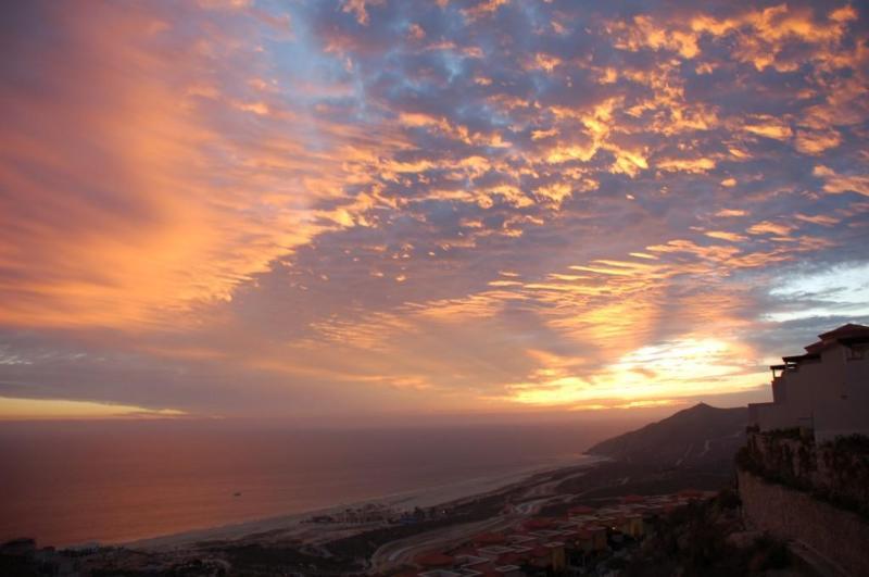 Un coucher de soleil du Pacifique depuis votre balcon