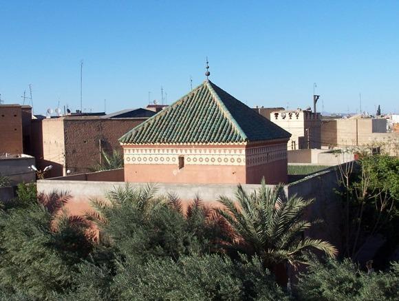 View over gardens of Sidi Bouamer