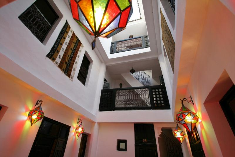 Riad Arabia - colours of the riadd