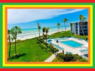 OUR POOL AND BEACH BY THE CONDO