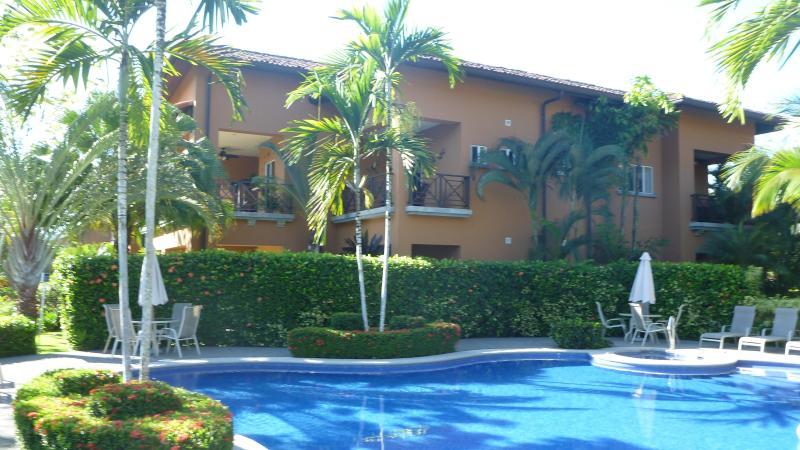 View of condo from 1 of 5 Veranda Residences pools
