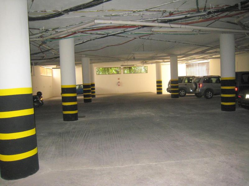 Secure garage parking on ground floor with personal parking space