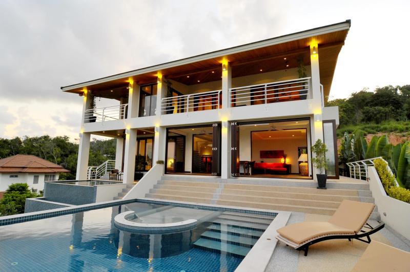 Villa from terrace
