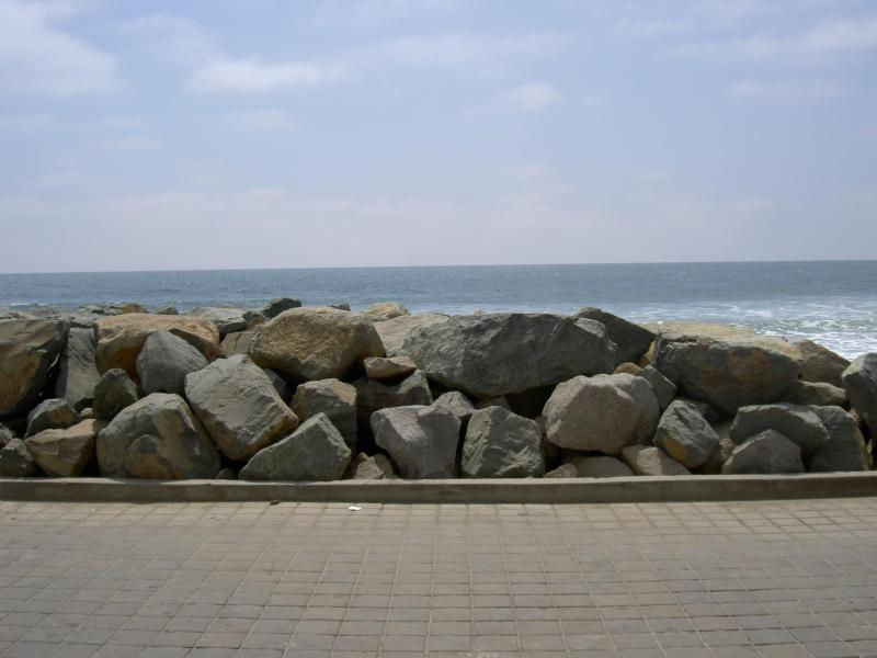 View of the rocks in 12' in front of Cottage