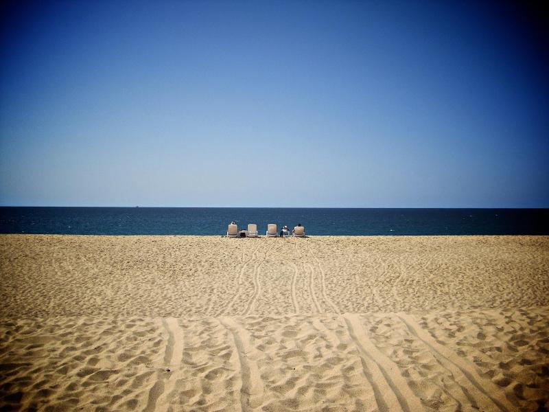 When I say Private Beach... I mean \'Private\'!
