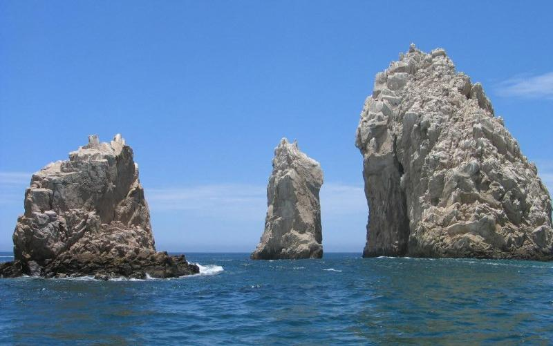 Three Rock Formation - Land's End