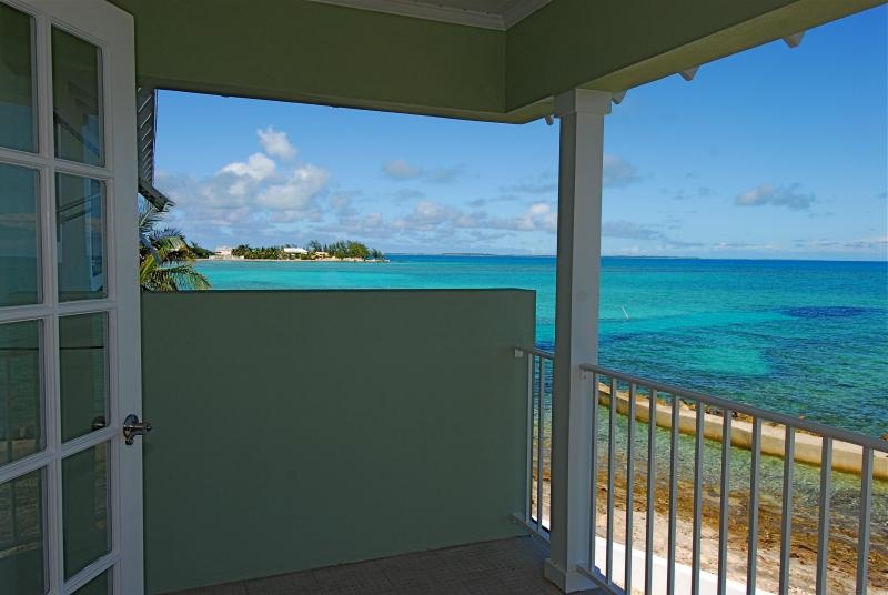 view from Master bed room balcony to Atholl Island