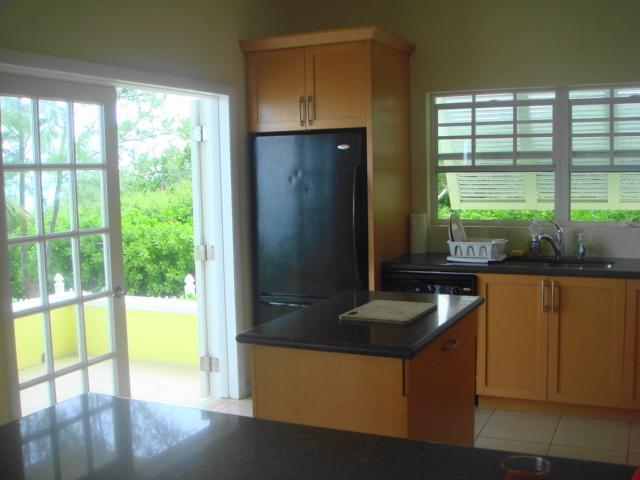 kitchen towards porch - ocean