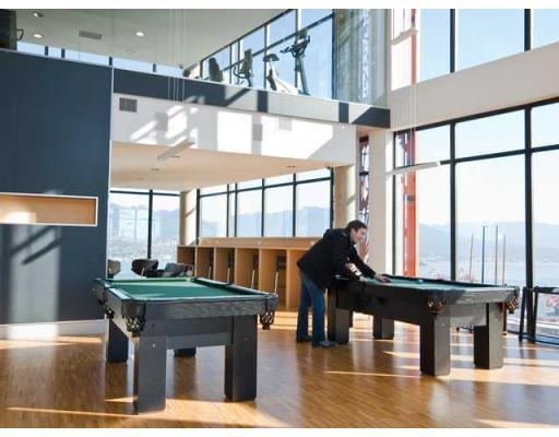 Free use of pool table in Club W amenities centre