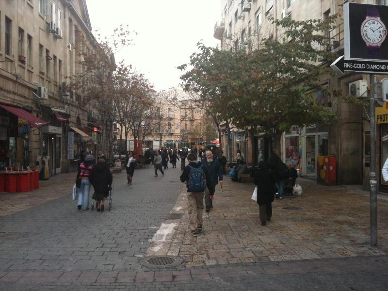 Beh Yeuda Pedestrian St