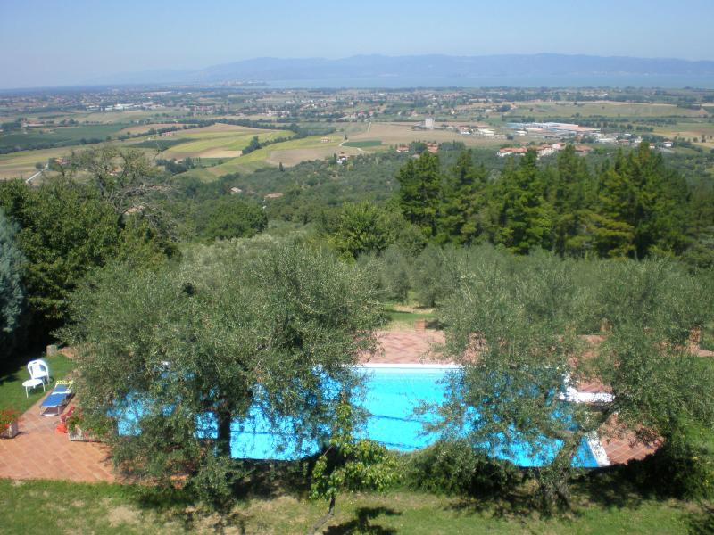 FABOLOUS VIEW FROM VILLA 'CASA BEL POSTO'