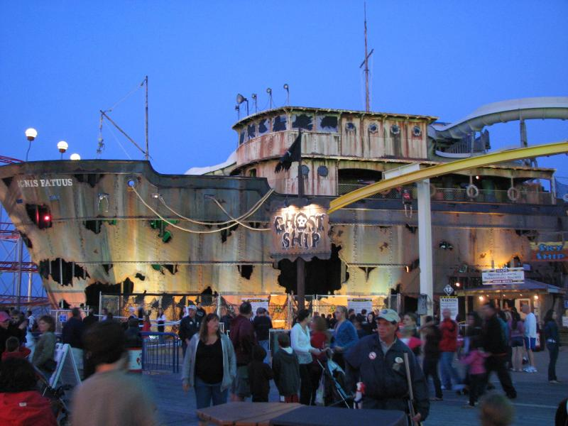 Ghost Ship - My Kid's Favorite Attraction
