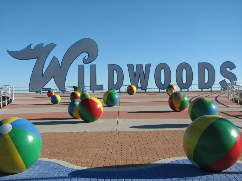 Famous Wildwood Sign