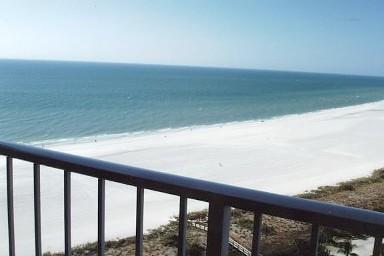 Beach view from lanai