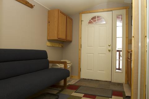 Entry Vestibule into Guest Cabin
