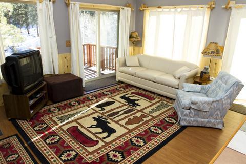 Guest Cabin Living Room
