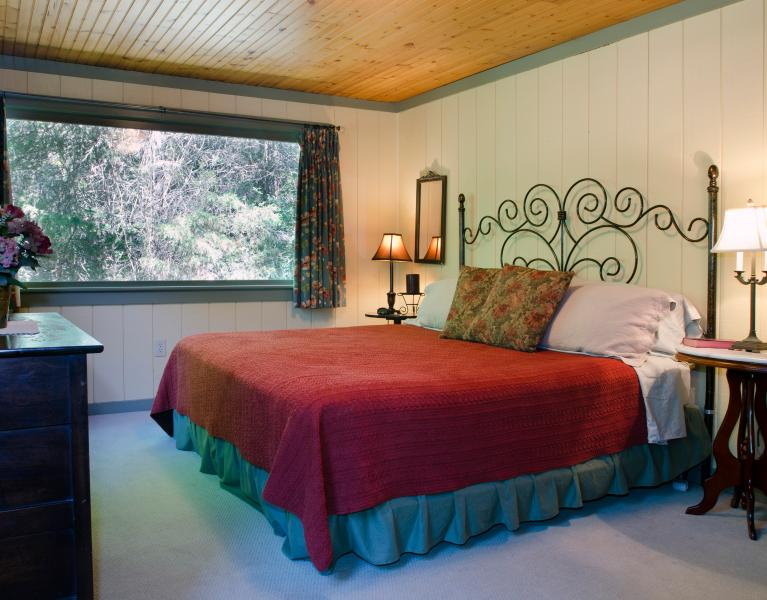 The Willow Room with king-size bed
