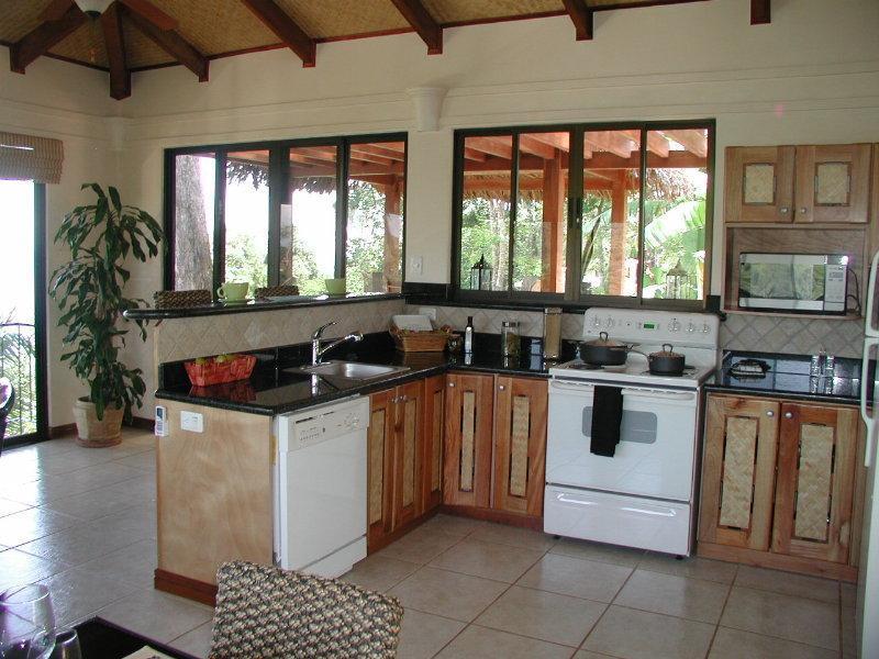Full Kitchen w/Ocean View