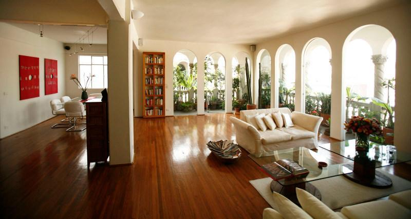 Luxury 4 BR penthouse, superb views, in historic center, vacation rental in Mexico City