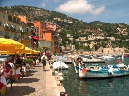 Magic old and picturesque Villefranche sur mer