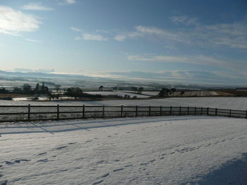 A winter wonderland at the Retreat - the location is stunning at anytime of the year.