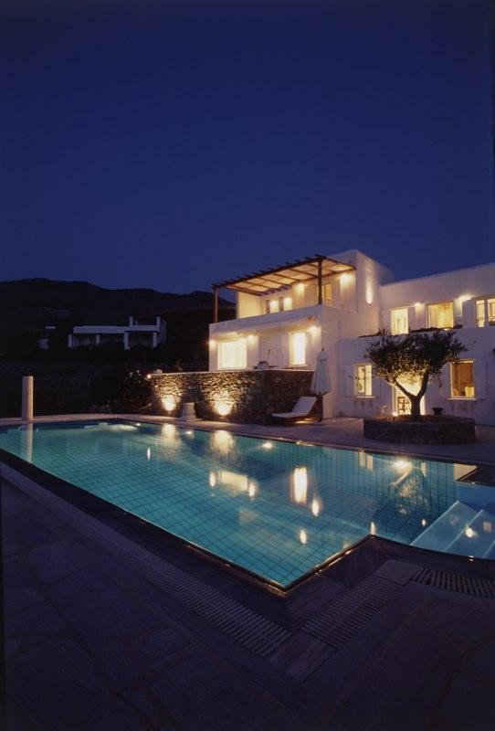 Villa Galaxy tranquil ambience by night