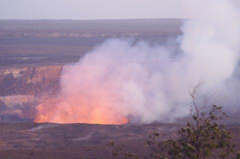 Halema`uma`u Crater (Volcanoes National Park)