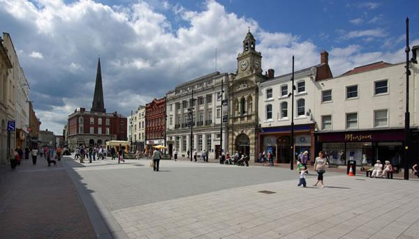 Rural Hereford City Centre