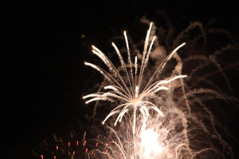 Canada Fireworks from the deck -sorry we don\'t have them everyday