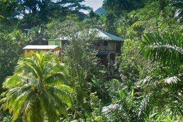 Refugio de montaña de Zimbali