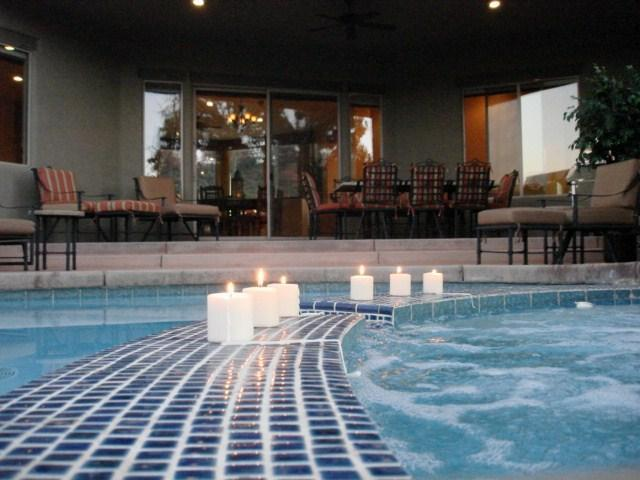 Romantic Heated Spa for 3-5 Adults. Your own private oasis